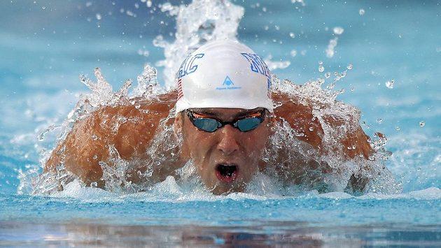 Americký plavec Michael Phelps.