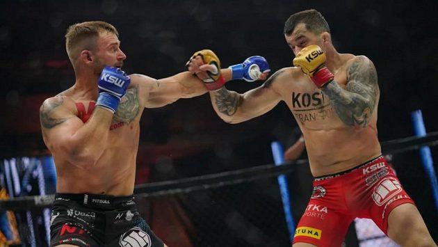 Patrik Kincl (vlevo) podlehl v titulovém zápasem Robertu Soldičovi.