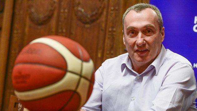 Trenér české basketbalové reprezentace Ronen Ginzburg (na snímku z 12. února 2020) se domluvil na spolupráci s ukrajinským klubem Prometey. Národní tým to podle něj neovlivní.