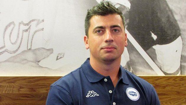 Tomáš Kaberle chce v Brně dosáhnout na extraligový pohár.