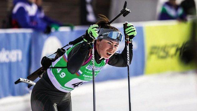 Ruská biatlonistka Natalja Uškinová bude od příští sezony reprezentovat Rumunsko.