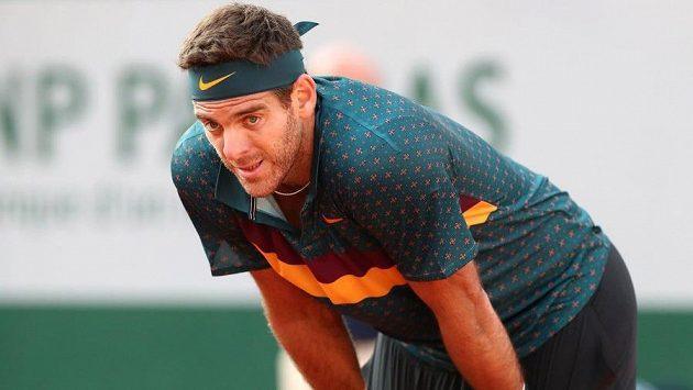 Přední světový tenista Juan Martín del Potro oplakává zemřelého otce.