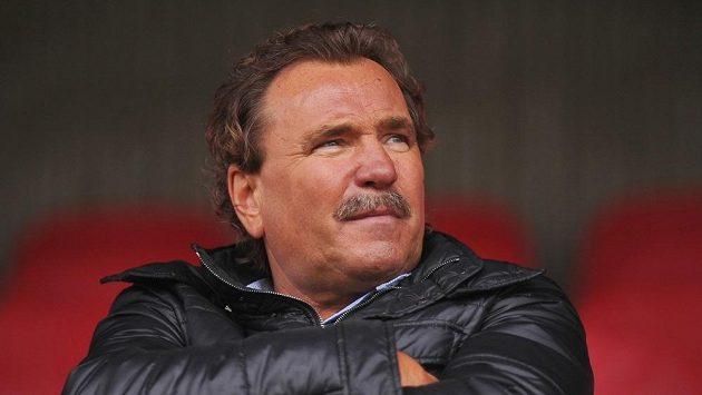 Ivan Horník býval na žižkovské tribuně v poslední době často k vidění.