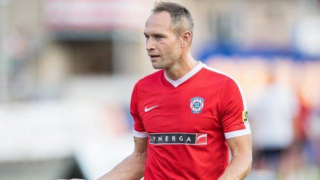 Jan Polák z Brna na snímku z utkání se Spartou.