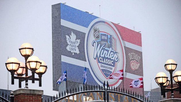 Ve Winter Classic 2014 se střetly týmy Toronta a Detroitu.