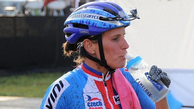 Česká cyklokrosařka Kateřina Nash.