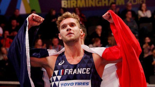 Francouz Kevin Mayer posunul hranici světového rekordu v desetiboji.