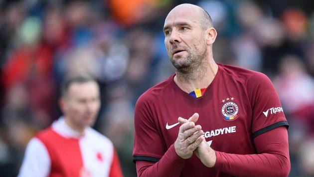 Jak Koller si v dresu Sparty poprvé vyzkoušel Silvstrovské derby.