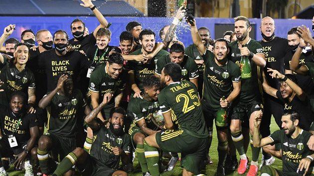 Fotbalisté Portlandu po výhře ve finále turnaje MLS.