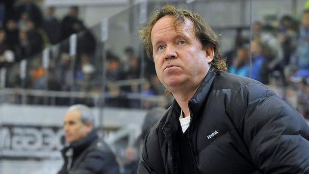 Litvínovský asistent trenéra Petr Rosol (vpravo).