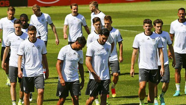 Němečtí fotbalisté se ve švýcarské Asconě připravují na EURO.
