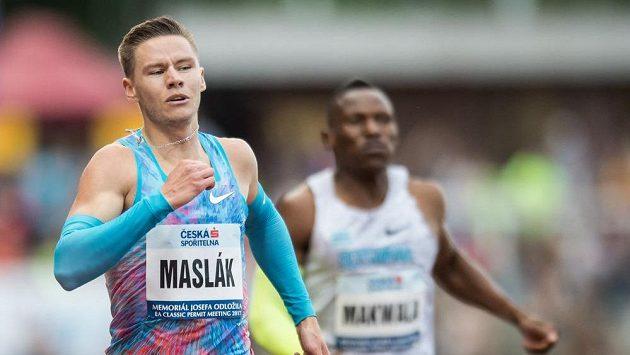 Český atlet Pavel Maslák.