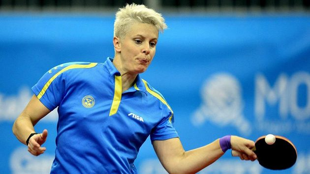 Švédská stolní tenistka Matilda Ekholmová.