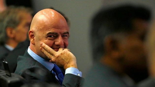 Šéf FIFA Gianni Infantino