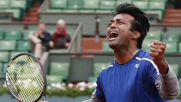 Indický tenista Leander Paes.