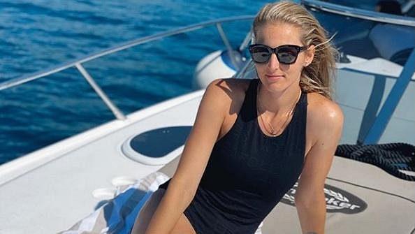 Kristýna Plíšková si užívá na dovolené v Chorvatsku