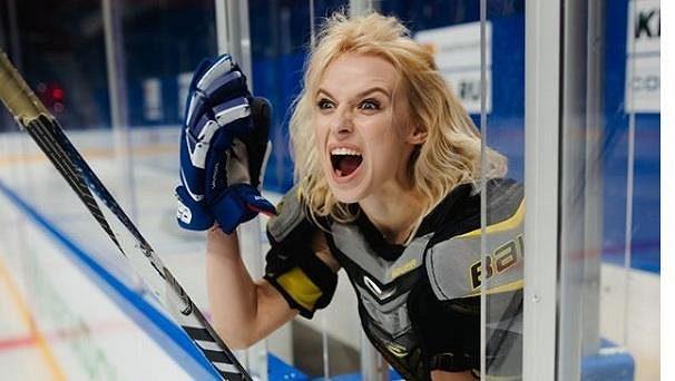 Uljana Trigubčaková je bývalou roztleskávačkou Ufy a vášnivou fanynkou hokeje.
