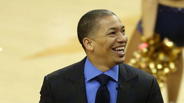 Kouč basketbalistů Clevelandu Tyronn Lue.