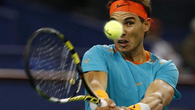 Rafael Nadal na turnaji v Šanghaji