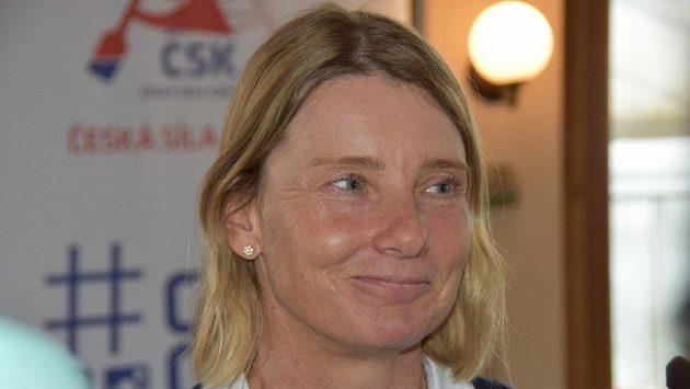 Vodní slalomářka Štěpánka Hilgertová