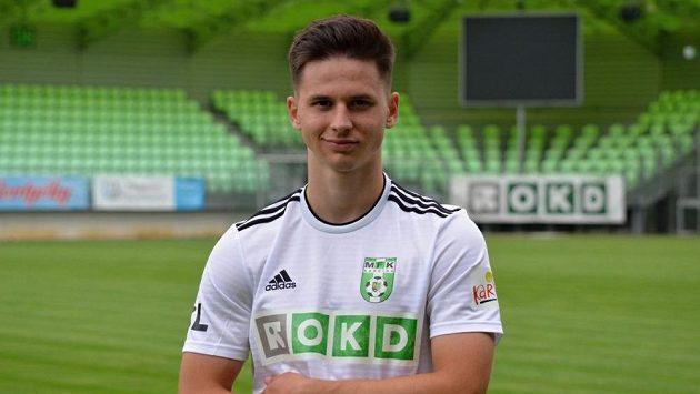 Tomáš Ostrák v dresu Karviné