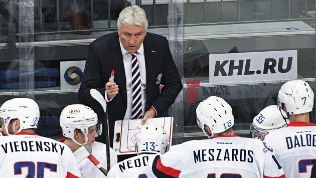 Miloš Říha, trenér Slovanu Bratislava.