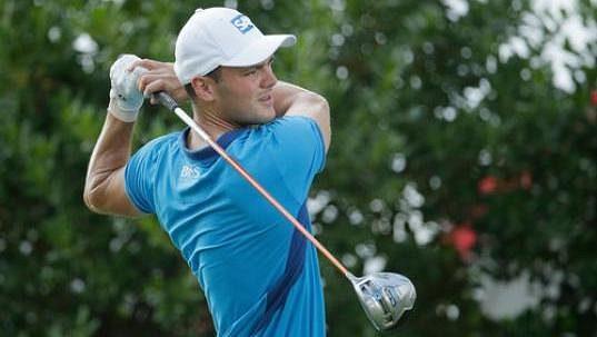 Německý golfista Martin Kaymer na letošním US Open.