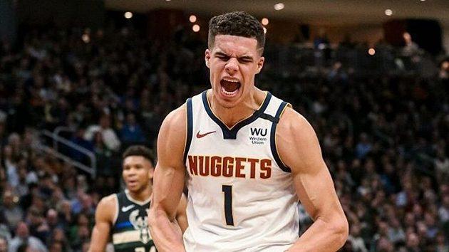 Basketbalista Denveru Nuggets Michael Porter. Zdroj: Instagram @mpj