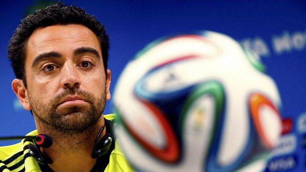Záložník Barcelony a španělské reprezentace Xavi Hernandez má namířeno do Kataru.