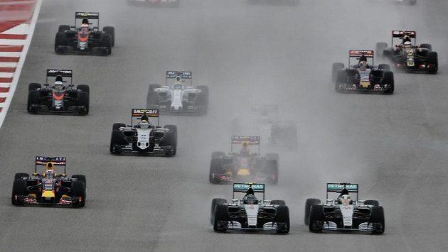 Formule 1. Ilustrační foto.