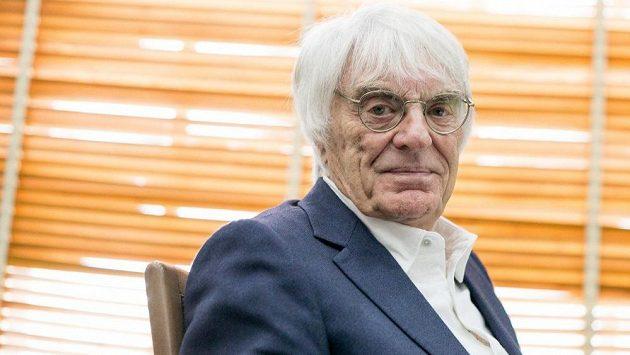 Bernie Ecclestone, bývalý šéf formule 1.