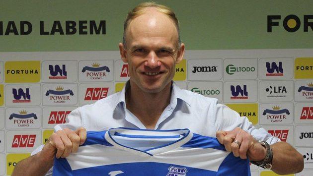 David Jarolím převzal fotbalisty Ústí nad Labem.