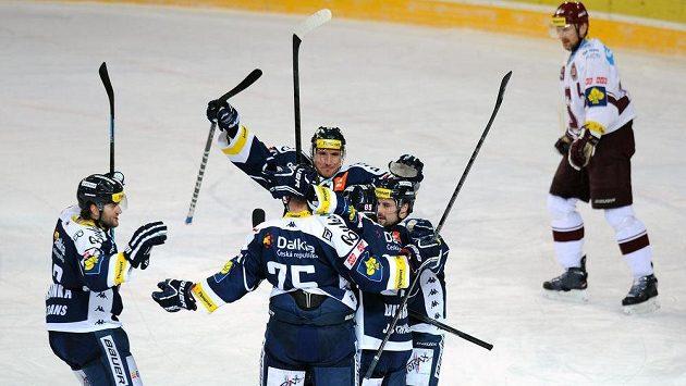 Hokejisté Vítkovic. Ilustrační nsímek.