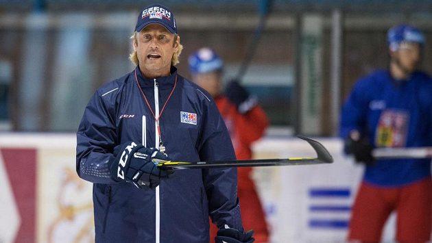 Asistent trenéra české hokejové reprezentace Václav Prospal.