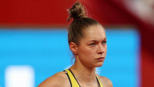 Německá sprinterka Gina Lückenkemperová.