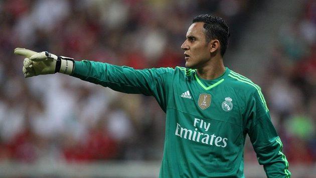 Brankář Realu Madrid Keylor Navas