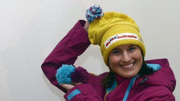 Akrobatická lyžařka Nikola Sudová