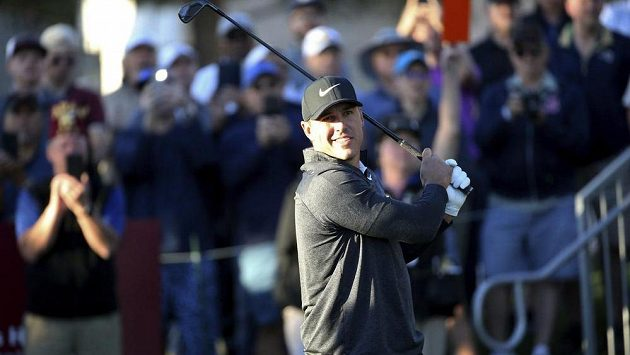 Brooks Koepka během turnaje v Las Vegas.