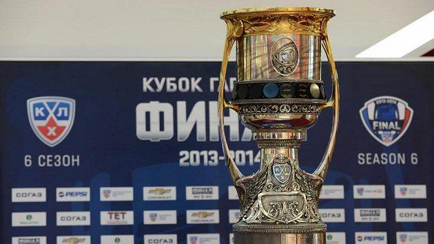 Gagarinův pohár, trofej pro vítěze KHL.