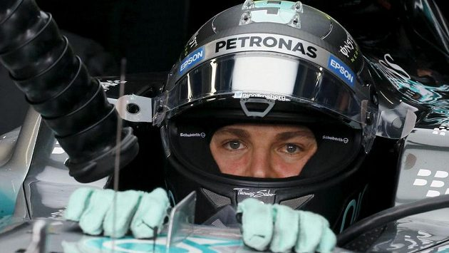 Německý pilot Nico Rosberg z Mercedesu - vítěz kvalifikace v Sao Paulu.