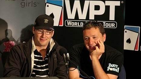 Tony G z PartyPoker.com týmu si opět podává Phila Hellmutha ve svém blogu