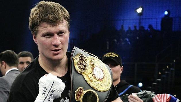 Ruský boxer Alexandr Povětkin.