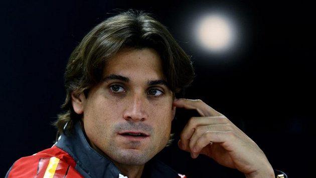 Španělská daviscupová jednička David Ferrer