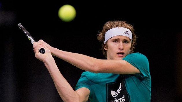 Talentovaný německý tenista Alexander Zverev.
