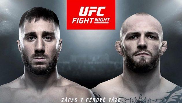 Daniel Teymur a Chris Fishgold se sejdou v Praze v kleci na galavečeru UFC 23. února.