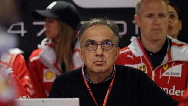 Prezident Ferrari Sergio Marchionne.