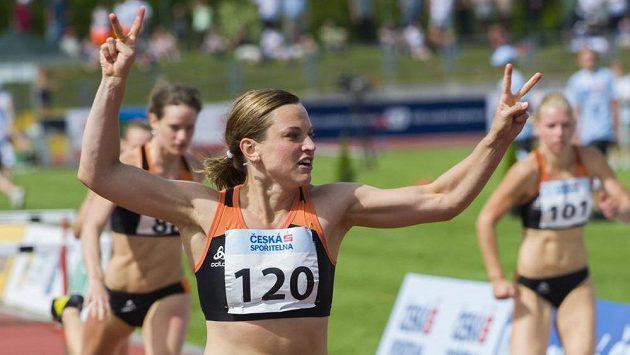 Lucie Škrobáková zaběhla v Táboře druhý nejlepší výkon české historie.
