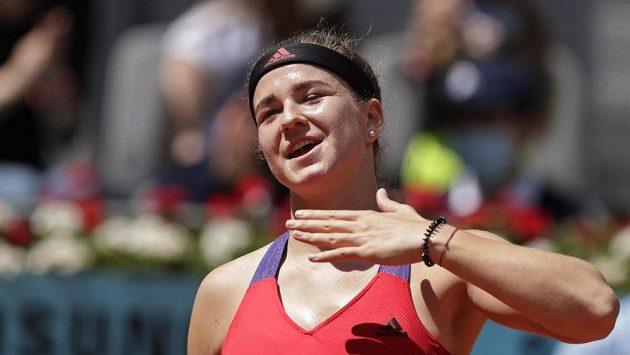Sestřih 2. kola tenisového turnaje v Madridu mezi Karolínou Muchovou a Naomi Ósakaovou