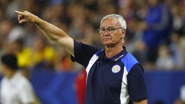 Trenér Leicesteru Claudio Ranieri.