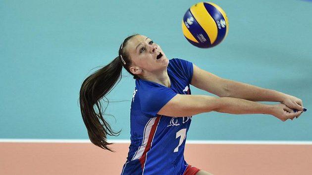 Česká volejbalistka Veronika Dostálová.